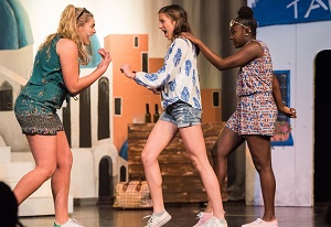 Cappies Reviews for Connelly School of the Holy Child's Mamma Mia!